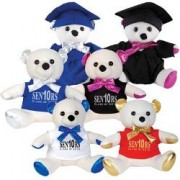 LL5755s Graduation Signature Calico Bear