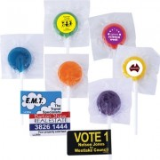 LL555s Assorted Colour Lollipops