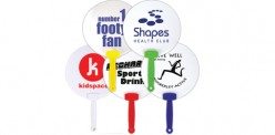 LL8038 Hand Held Plastic Fan