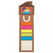 LL8861s House Bookmark/Ruler with Noteflags