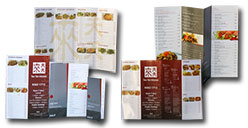 Dinning Menu / Dine in Menu
