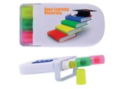 LL0059 Set of 3 Retractable Highlight Wax Markers