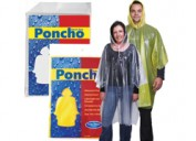 LL1799 Reusable Poncho in Polybag