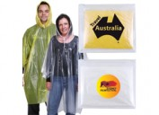 LL1800 Reusable Poncho in Zipper Pouch